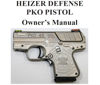 PKO Pistol Owners Manual